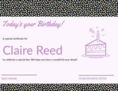 Claire Reed Confetti