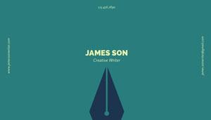 James Son<BR> Visitenkarte