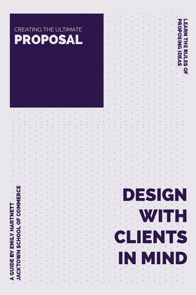 Blue Dot Pattern Business Design Proposal 提案書