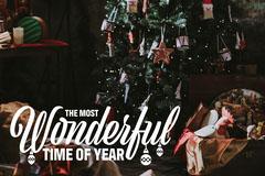 Wonderful Time Of The Year Christmas Postcard Seasonal