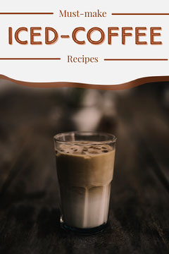 iced coffee recipes Pinterest  Coffee