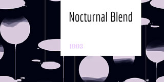 Nocturnal Blend Rótulo de vinho