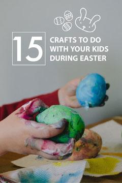 Colorful 15 Crafts For Kids Pinterest Crafts