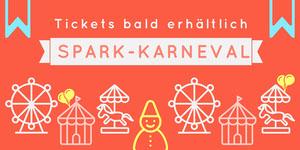 carnival ticket sales banner ads Werbeflyer