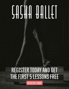 Sasha Ballet Newsletter Dance Flyer