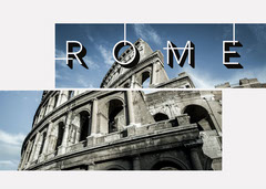 Rome Italy Colosseum Photo Postcard Italy