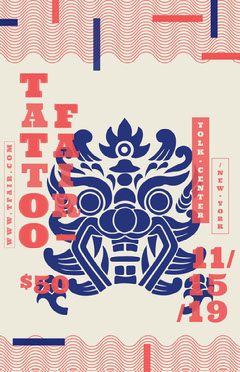 Tattoo Fair Poster Tattoo Flyer