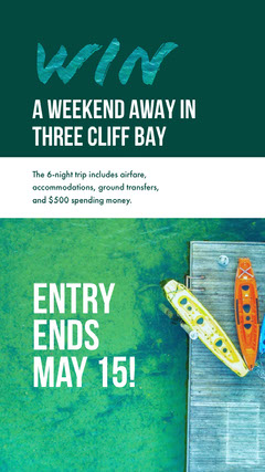 Green and White Weekend Promotion Contest