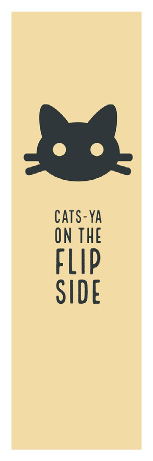 Cats-ya on the flip side Marcapáginas