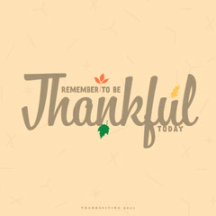 Multicolored Thankful Quote IG Square Holiday