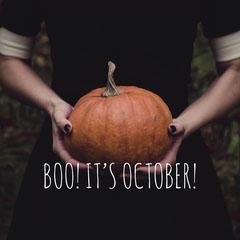 Spooky Mysterious Halloween Pumpkin Instagram Post Scary