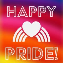 Colourful Pride Instagram Square Pride