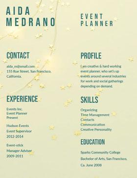Aida Medrano Currículum creativo
