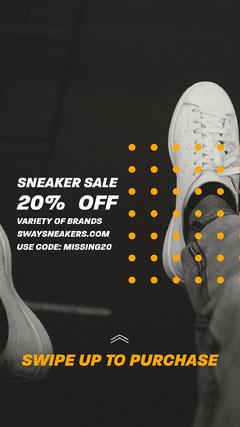 Sway Sneaker Sale Instagram Story Deal