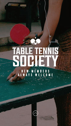 Table Tennis Society Tennis