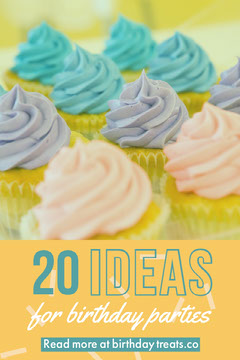 Yellow and Colorful Cupcakes Birthday Ideas Social Post Cupcake