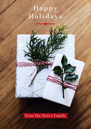 happy holidays card 크리스마스 카드