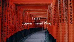 Japan Travel Vlog Youtube Channel Art Banner Japan