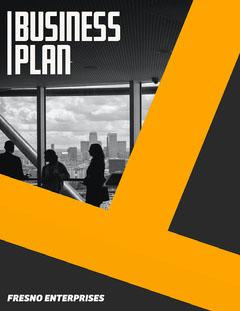 Fresno Enterprises Business Plan Cover Marketing