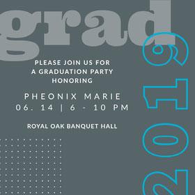 Free Graduation Invitation Templates Invitation To Graduation Party