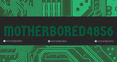 Green Circuit Board Style Twitch Banner Tech