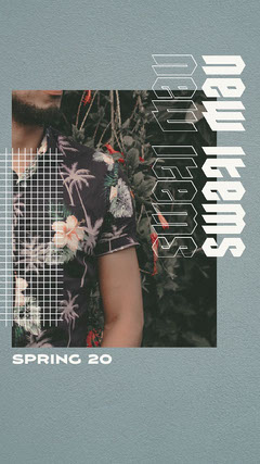 New Items Spring Instagram Story Fashion