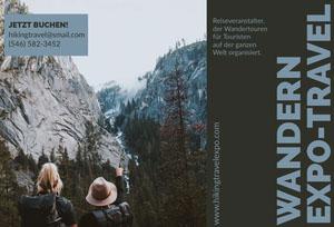 hiking expo-travel brochures  Broschüre
