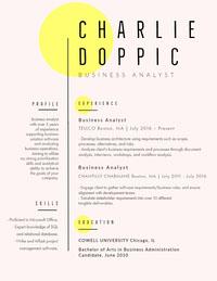 CHARLIE<BR>DOPPIC CV