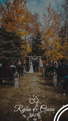 Rustic Wedding Snapchat GeoFilter  Weddings