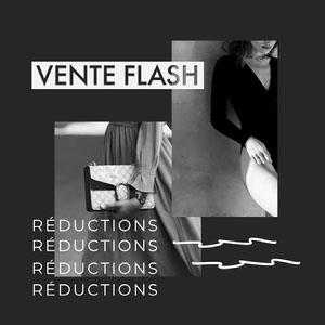 Vente Flash Instagram Square  Flyer publicitaire