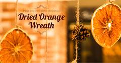 Orange Winter Solstice Decorations Instagram Landscape Orange