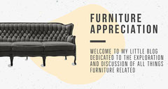 Black and White Furniture Blog Banner  Furniture Sale