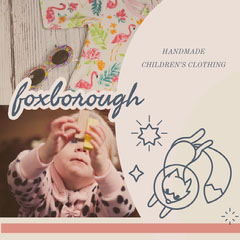 Beige With Baby Girl Foxborough Instagram Graphic Kids