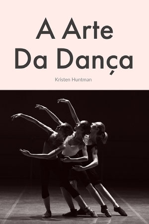 the art of dance book covers  Capa de livro