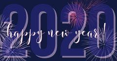 2020 new year facebook Fireworks
