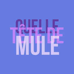 Purple Gradient Type Tête De Mule Instagram Square