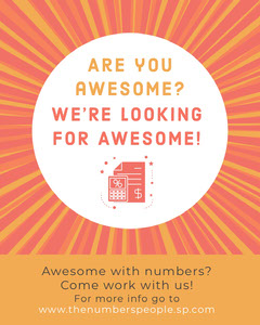 We're Hiring Awesome Now Hiring Flyer