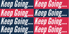 Keep Going.... Red