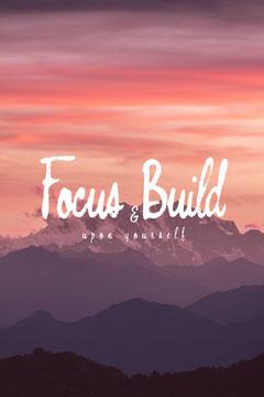 Focus & Build Pinterest Mountains