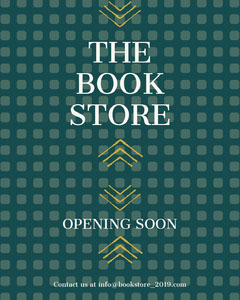 THE BOOK STORE Opening Soon