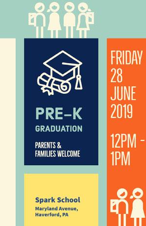 Friday 28 June 2019 Graduation Poster