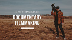 Documentary Filmmaking Youtube Channel Art Shoes