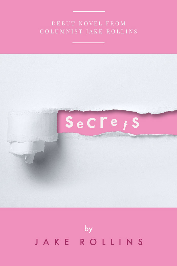 Pink and White Secrets Book Cover Idées de couverture de livre