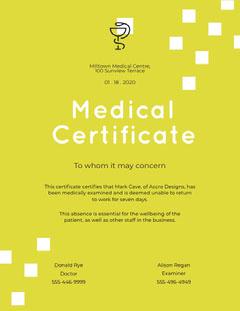 medical certificate Milltown Green