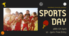 Sports Day Facebook Cover Sports