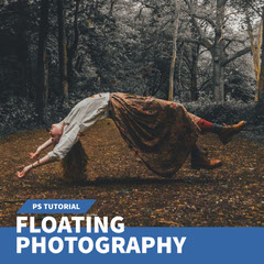 Warm Toned Floating Photography Tutorial Instagram Post Forest