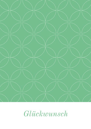 mint green and white patterned congratulations cards  Glückwunschkarte