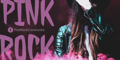 Pink Rock Community Eventbrite Graphic Lifestyle