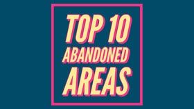 TOP 10<BR>ABANDONED<BR>AREAS