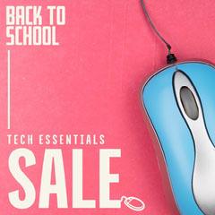 Pink & Blue Tech Essentials Sale IG Square Tech